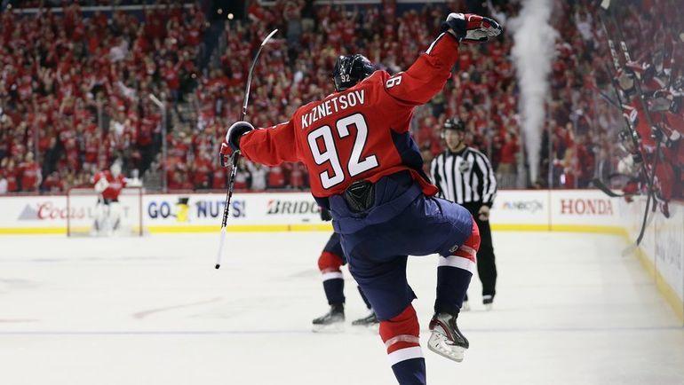 Евгений Кузнецов. Фото НХЛ