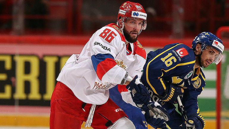 Никита Кучеров (слева). Фото ФХР