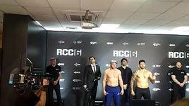 Александр Шлеменко перевесил Вискарди Андраде перед боем на турнире RCC 6