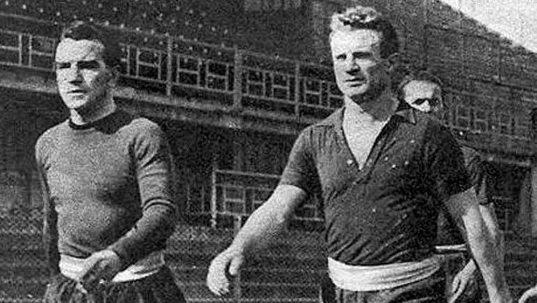 Эцио Лоик (слева) и Валентино Маццола (справа).