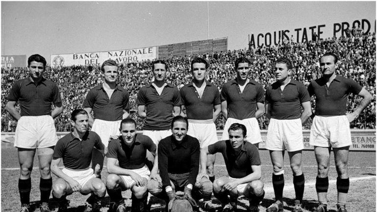 """""""Торино"""" в середине 1940-х годов."""