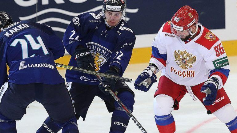 Сборная Российской Федерации выиграла Евротур доматча счехами