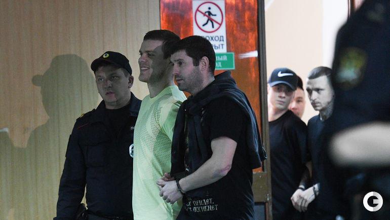 6 мая. Москва. Александр Кокорин и Александр Протасовицкий.