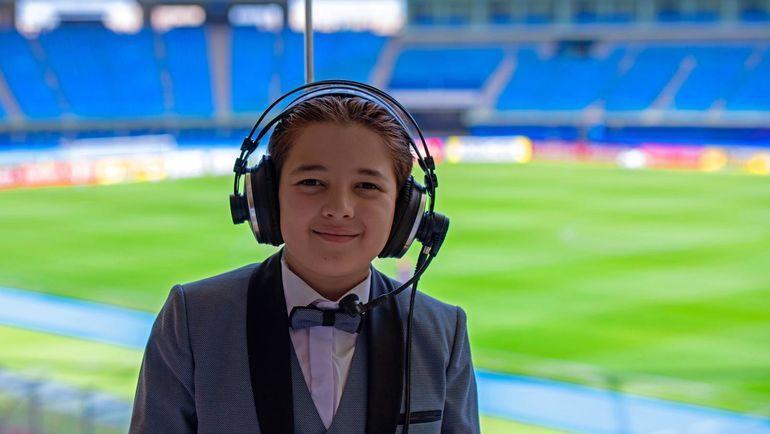 11-летний журналист из Сирии Язан Таха. Фото media.footballforfriendship.com