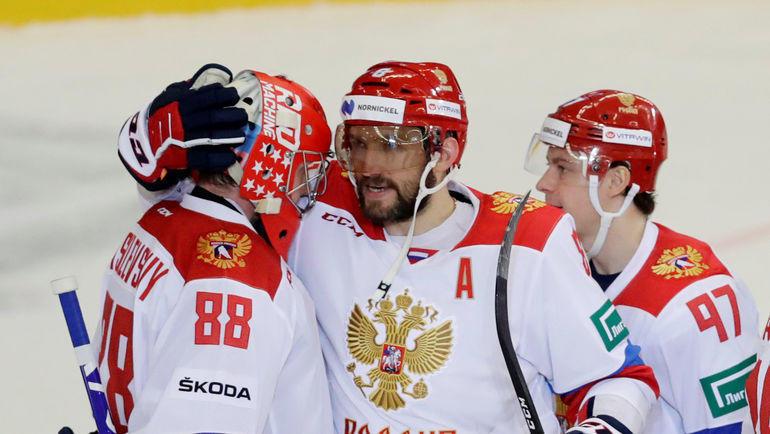 Андрей Василевский и Александр Овечкин: большая игра начинается! Фото Reuters