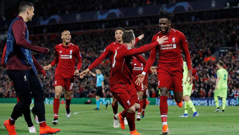 Футбольная команда ливерпуль полный состав