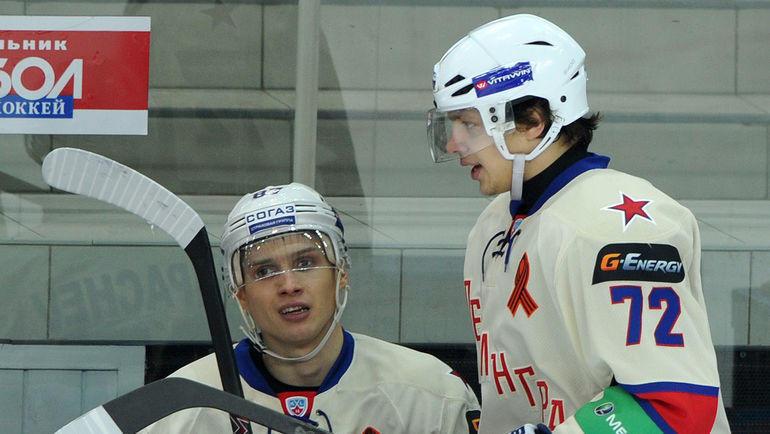 Вадим Шипачев и Артемий Панарин. Фото Татьяна Дорогутина