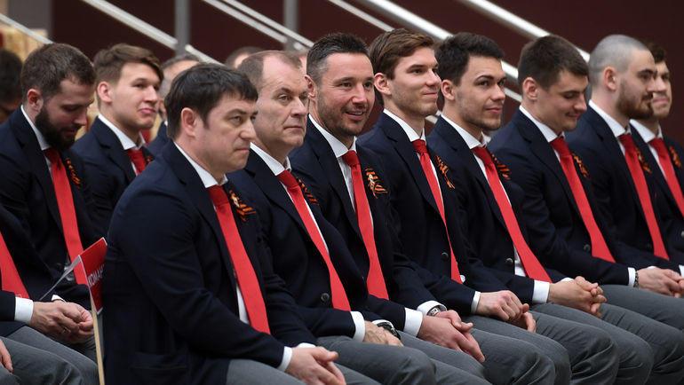 8 мая. Новогорск. Сборная России назвала состав из 27 хоккеистов и отправилась на ЧМ-2019. Фото Дарья Исаева, «СЭ»