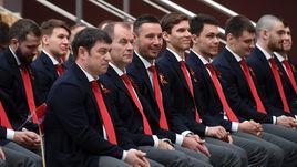 8 мая. Новогорск. Сборная России назвала состав из 27 хоккеистов и отправилась на ЧМ-2019.