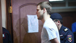 8 мая. Москва. Александр Кокорин на оглашении приговора Пресненского суда.