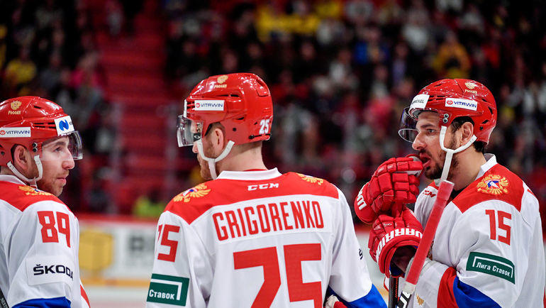 Сборная России проводит второй матч на ЧМ-2019. Фото Reuters