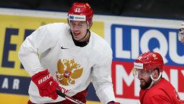 Евгений Малкин и Никита Кучеров.