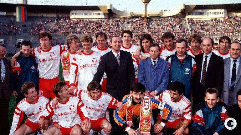 """1992 год. Москва. """"Спартак"""" - ЦСКА - 2:0."""