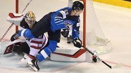 10 мая. Кошице. Финляндия – Канада – 3:1. Финн Каапо Какко забросил первую шайбу в матче.