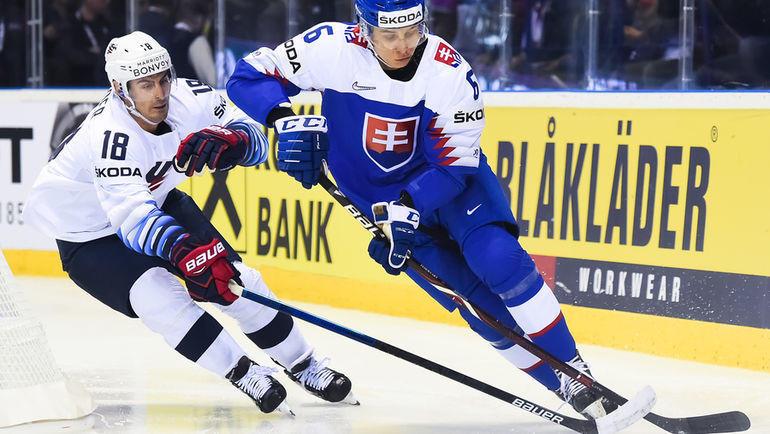 10 мая. Кошице. США – Словакия – 1:4. Фото iihf.com