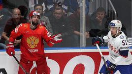 10 мая. Братислава. Россия - Норвегия - 5:2. Никита Кучеров (слева).