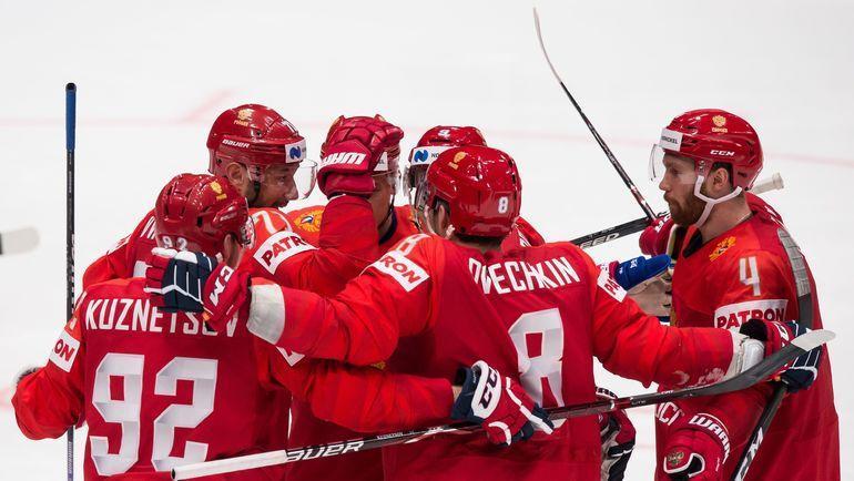 Сборная России одержала две победы на старте ЧМ-2019. Фото AFP