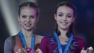 Александра Трусова и Анна Щербакова.