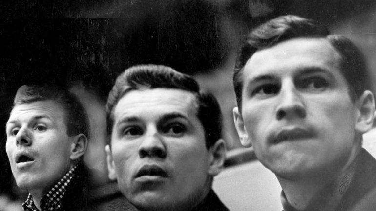 Вячеслав Старшинов, Борис Майоров, Евгений Майоров (слева - направо). Фото Анатолия Бочинина