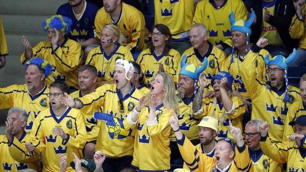 В Братиславе – в группе сборной России – Швеция и Австрия, Чехия и Латвия. Фото Reuters