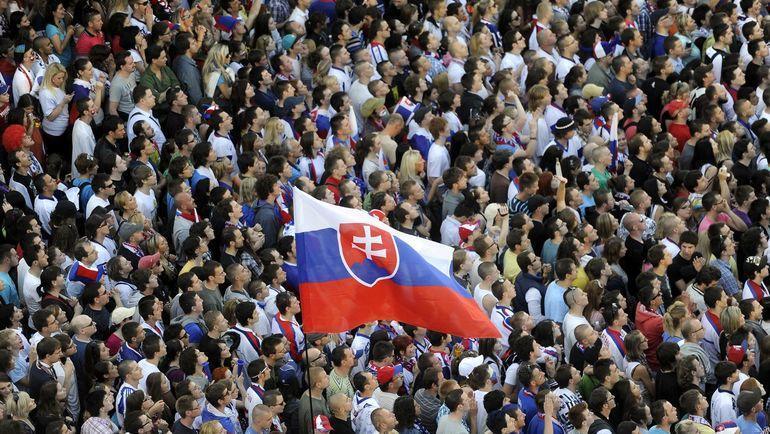 В Кошице встречаются Франция и Словакия. Фото REUTERS