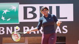 Серена Уильямс на турнире в Риме.