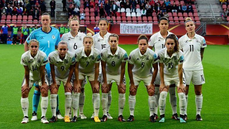 Женская сборная Германии по футболу. Фото AFP