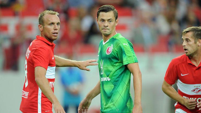 Денис Глушаков и Динияр Билялетдинов. Фото Алексей Иванов