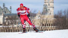 24 марта. Квебек. Александр Большунов во время 15-километровой гонки.