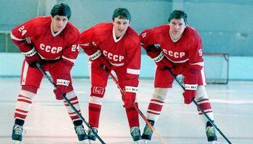 Сергей Макаров, Игорь Ларионов и Владимир Крутов.
