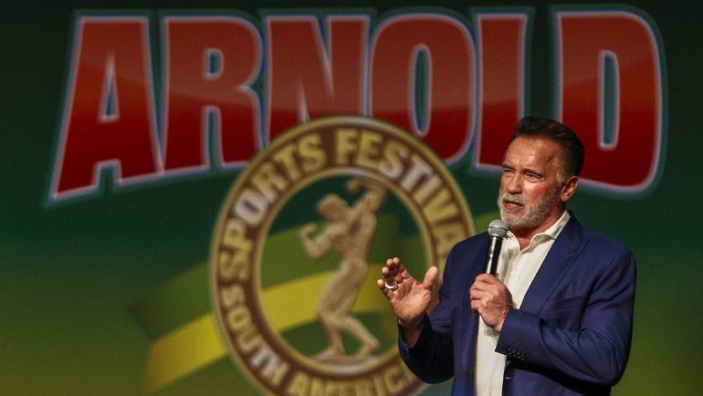 Арнольд Шварценеггер. Фото AFP