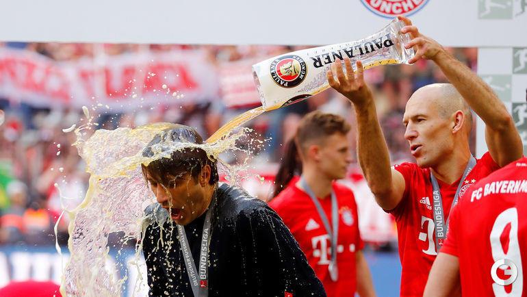 "18 мая. Мюнхен. ""Бавария"" - чемпион Германии."