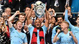 """18 мая. Лондон. """"Манчестер Сити"""" - обладатель Кубка Англии."""