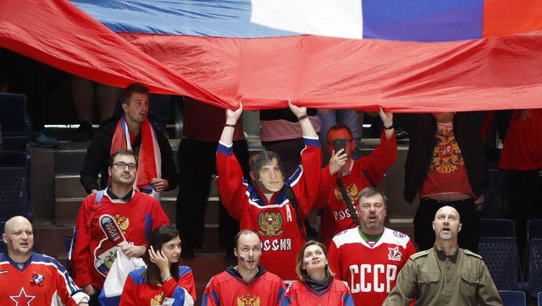В Братиславе предварительный раунд закрывают Россия и Швеция, в Кошице – Канада и США. Фото REUTERS