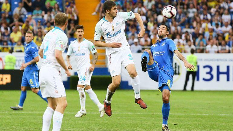 Обзор матча зенит боруссия реал