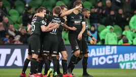 """""""Краснодар"""" впервые в своей истории вышел в Лигу чемпионов."""