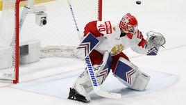 19 мая. Братислава. Швейцария - Россия - 0:3. Александр Георгиев не пропустил ни одной шайбы за два матча.