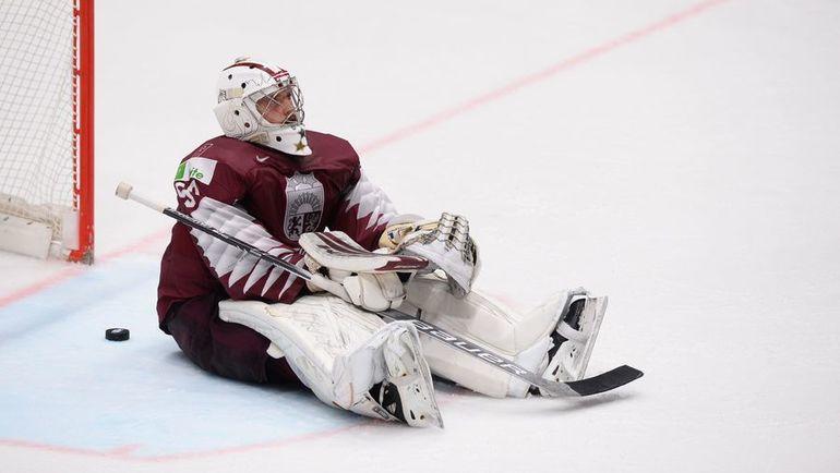 20 мая. Братислава. Швеция – Латвия – 5:4. Латвийская сборная была близка к сенсации. Фото AFP