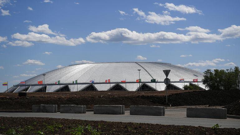 "Стадион ""Самара Арена"". Фото Дарья Исаева, ""СЭ"""