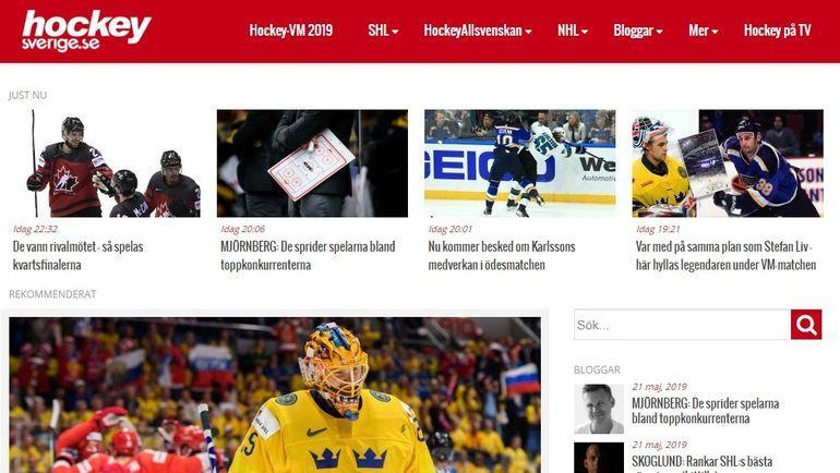 Hockeysverige.se.