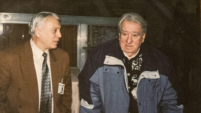 Владимир Перетурин и Анатолий Тарасов. Фото из архива Владимира Перетурина