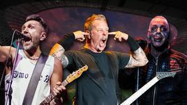"""""""Ленинград"""", Metallica и Rammstein - хедлайнеры стадионных концертов в России летом-2019."""