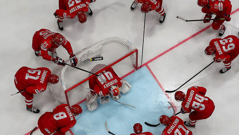 После отличной игры на групповом турнире от сборной России ждут только золота. Фото photo.khl.ru