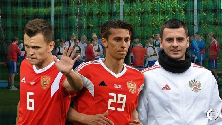 Денис Черышев, Илья Кутепов и Георгий Щенников.