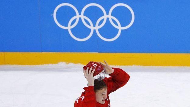 25 февраля 2018 года. Пхенчхан. Россия - Германия - 4:3 ОТ. Первые эмоции Кирилла Капризова после победной шайбы. Фото Reuters