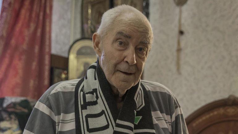 "Юрий Чапчук болеет за ""Торпедо"" с 1945 года. Фото Юрий Голышак, «СЭ»"
