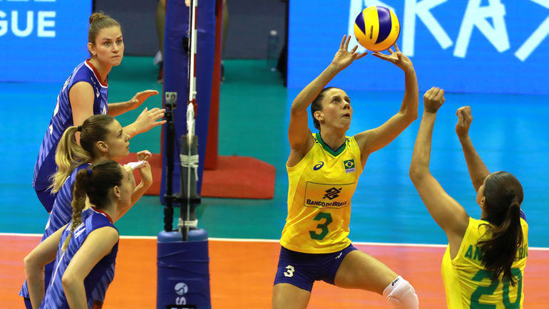 23 мая. Бразилиа. Бразилия - Россия - 3:0. Фото FIVB