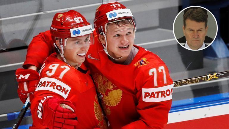 Никита Зайцев и Кирилл Капризов. Фото AFP