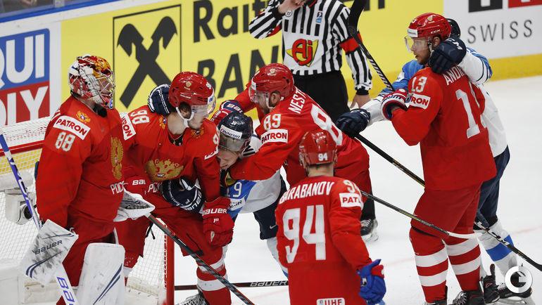 25 мая. Братислава. Россия - Финляндия - 0:1.