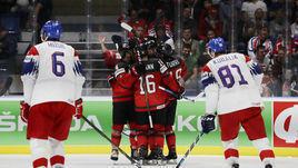 25 мая. Братислава. Канада - Чехия - 5:1. Канадцы сыграют в финале ЧМ-2019, чехи - в матче за 3-е место.